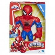 Boneco Mega Mighties Articulado 25 cm Super Hero Adventures Homem-Aranha - Hasbro