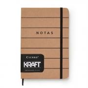 Caderneta Pautada KRAFT 160 Folhas - Cicero