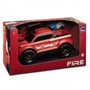 Carrinho Pick-Up Force Bombeiro - Roma Brinquedos