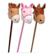 Cavalinho de Pau C/ Som e Rodinha - Lovely Toys