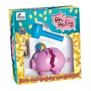 Cofrinho Divertido Din Din Pig - Fenix Brinquedos
