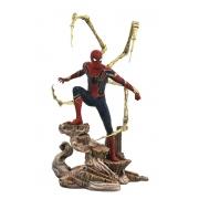 Estátua Spider-man Homem Aranha PVC Diorama Marvel - Diamond Gallery