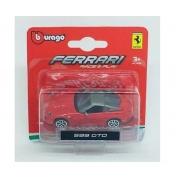 Ferrari 599 GTO Burago Race & Play escala 1/64