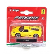Ferrari F 50 Bburago Race & Play escala 1/64