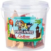 Forte Apache 17 Peças Índios do Acampamento - Gulliver