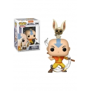Funko Pop Animation Avatar Aang With Momo (534)