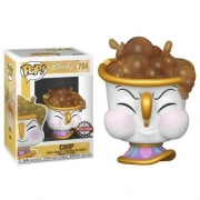 Funko Pop Disney A Bela e a Fera Chip with Bubbles (794)