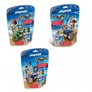 Kit Playmobil Piratas 82 Peças - Sunny