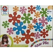 Kit Star Plic - Estrela baby e Blocolândia Trem Puxa Zoo - Dismat