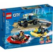 Lego City Transporte de Barco da Policia de Elite - 60272