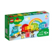 Lego Duplo Trem dos Números Aprendendo a Contar 10954 23 Peças