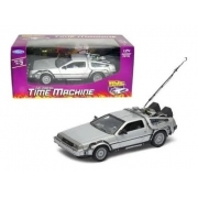 Miniatura DeLorean De Volta Para O Futuro 1:24 Welly 22443W