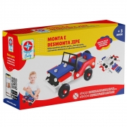 Monta e Desmonta Jipe Estrela Baby 1001108000030