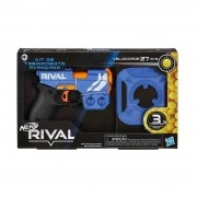 Nerf Rival Kit de Treinamento Avançado Equipe Azul - Hasbro