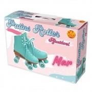Patins Roller Ajustável Mar Tamanho P(31-34) - DM Toys