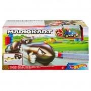 Pista Hot Wheels Mario Kart Lançador de Bill Bala - Mattel