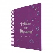 Planner Diário Permanente 96 Páginas Follow Your Dreams Signos - Dac 140mm X 200mm