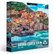 Quebra-Cabeça Bella Italia Cinque Terre 500 Peças - Game Office