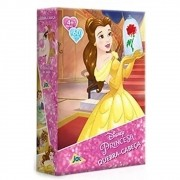 Quebra-Cabeça Disney Princesa Bela 60 Peças - Jak