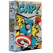 Quebra-Cabeça Nano Marvel Comics Capitão América Game Office
