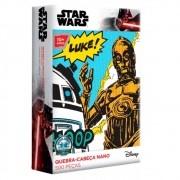 Quebra-Cabeça Nano Star Wars C-3PO e R2-D2 500 Peças - Game Office