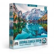 Quebra-Cabeça Paisagens Deslumbrantes Alpes Italianos 500 Peças - Game Office
