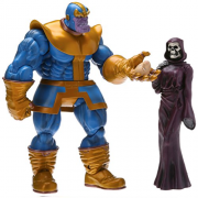 Thanos e Morte Marvel Select Diamond Action Figure