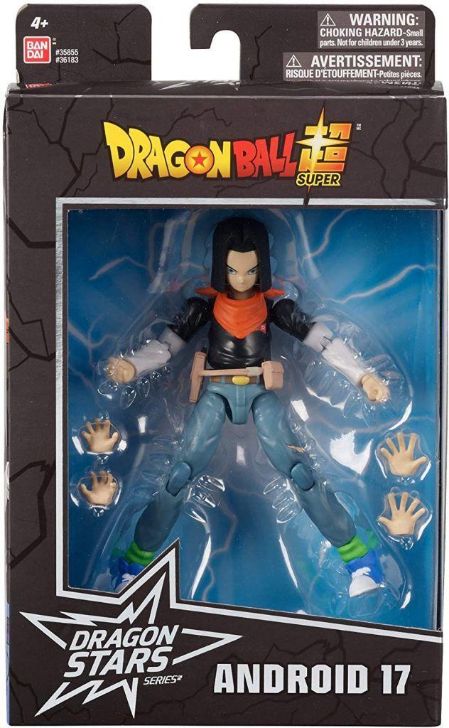 Action Figure Android 17 Dragon Ball Super Dragon Stars Series Bandai