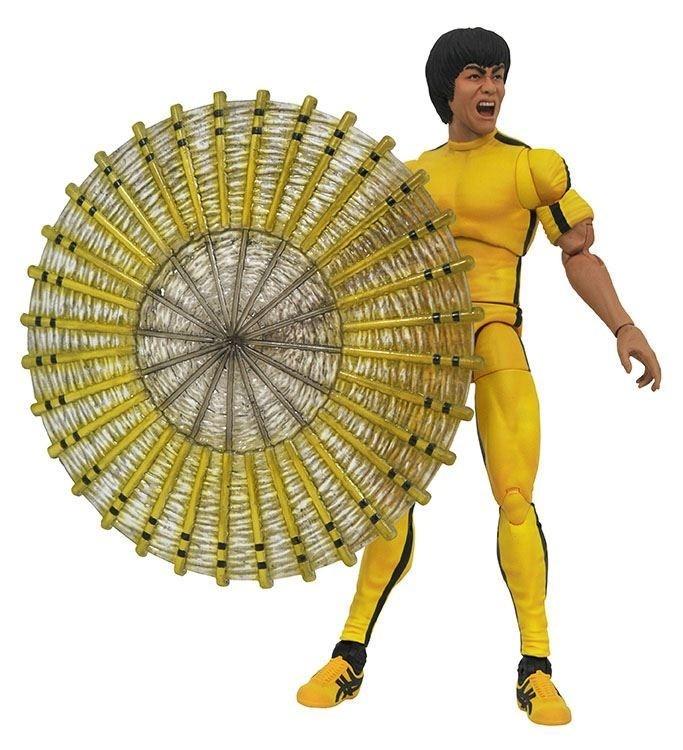 Action Figure Diamond Select Bruce Lee Yellow Jumpsuit - Diamond Select