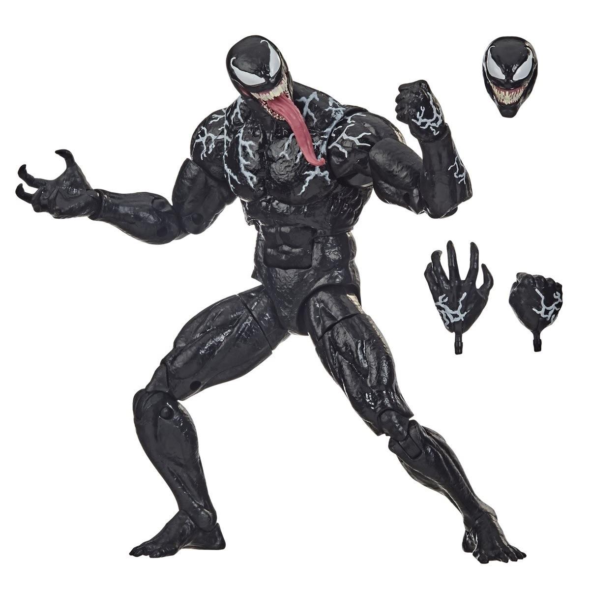 Action Figures Legends Series Marvel Venom - Hasbro