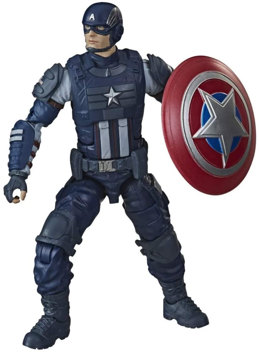 Action Figures Marvel Legends Gamerverse Avengers Capitão América - Hasbro