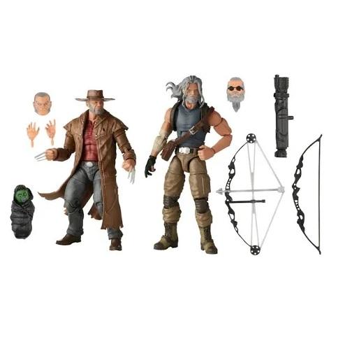 Action Figures Marvel Legends Series Logan e Gavião Arqueiro - Hasbro