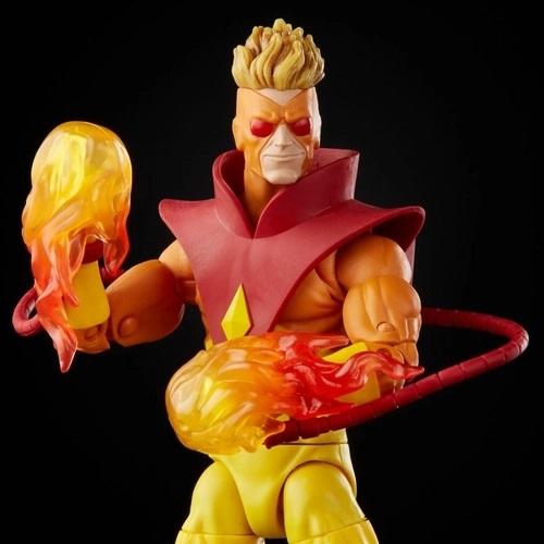 Action Figures Marvel Legends Series Vampira e Pyro - Hasbro
