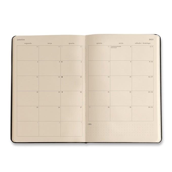 Agenda Planner Datado 2021 - 160 Páginas - Todas Juntas - Cicero 14x21cm