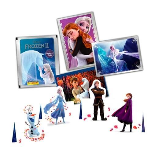 Album de Figurinhas Frozen 2 - Kit c/ 22 pacotes - 88 Figurinhas + 22 cards Elza e Anna - Panini