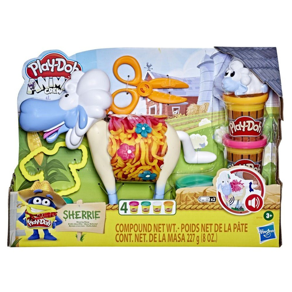 Animal Crew Ovelha com som - Play-Doh - Hasbro