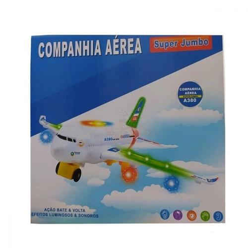 Aviao Air Bus Companhia Aérea  SuperJumbo A380 Fênix Brinquedos