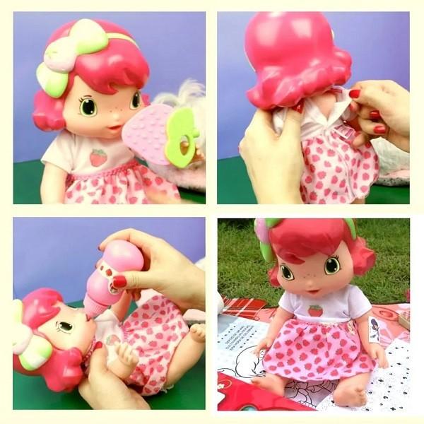 Baby Moranguinho Faz Xixi - Mimo Toys