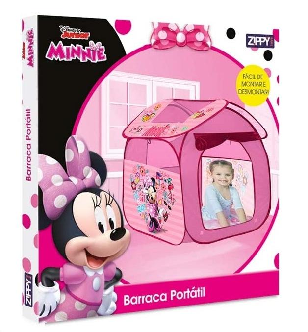 Barraca Casa Portátil Disney Minnie - Zippy