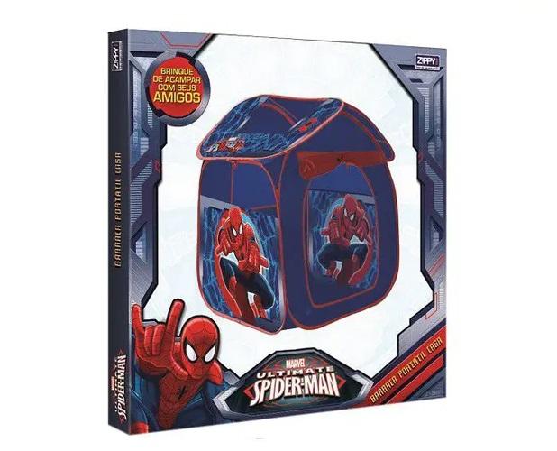 Barraca Portátil Casa Homem Aranha  Spider Man - Zippy