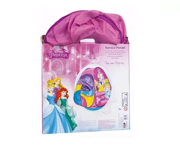 Barraca Portátil Disney Princesas - Zippy
