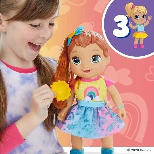 Boneca Baby Alive Baby Grows Up! Eu Cresço de Verdade! - Hasbro