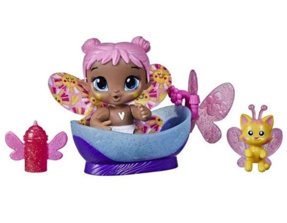 Boneca Baby Alive Glo Pixies Minis Bubble Sunny Hasbro F2597
