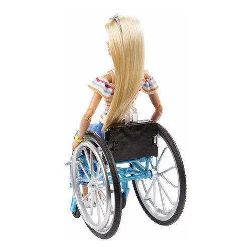 Boneca Barbie Cadeirante Fashionistas  GGL22 - Mattel