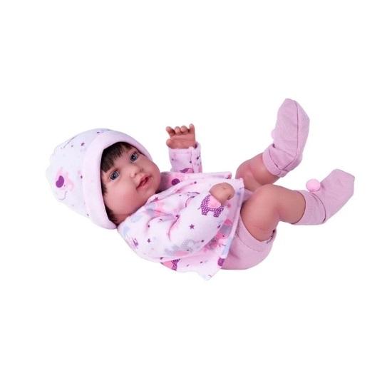 Boneca Bebê Reborn Anny Doll Baby - Cotiplás