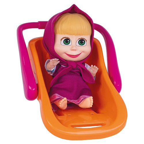 Boneca Masha com Bebê Conforto Cotiplás 2467