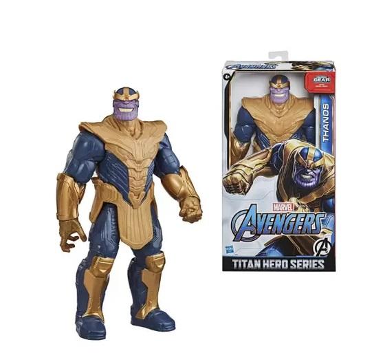 Boneco Articulado 30 cm Vingadores Thanos - Hasbro