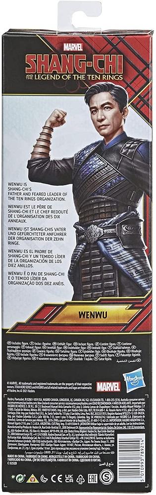 Boneco Articulado 30 cm Wenwu Shang Chi e a Lenda dos Dez Anéis Hasbro F0951