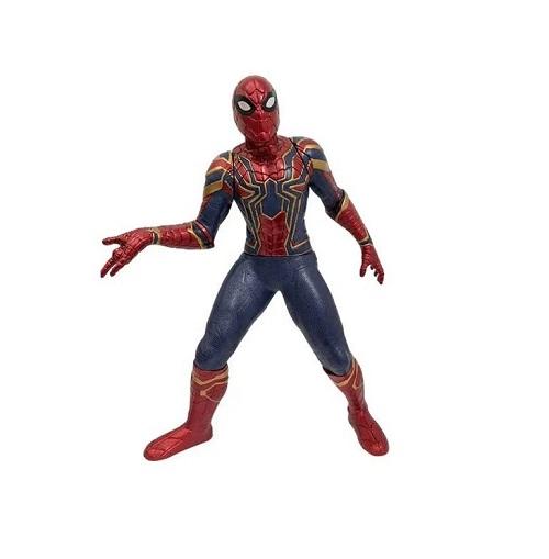 Boneco Articulado Homem-Aranha Iron Spider  Marvel 50cm Mimo