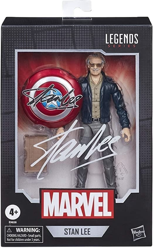 Boneco Colecionável Stan Lee 15cm Marvel Series Hasbro
